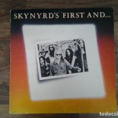Discos de vinilo: LYNYRD SKYNYRD -SKYNYRD'S FIRST AND....LAST- LP MCA RECORDS 1978 ED. AMERICANA GATEFOLD SLEEVE MCA-3. Lote 168052564