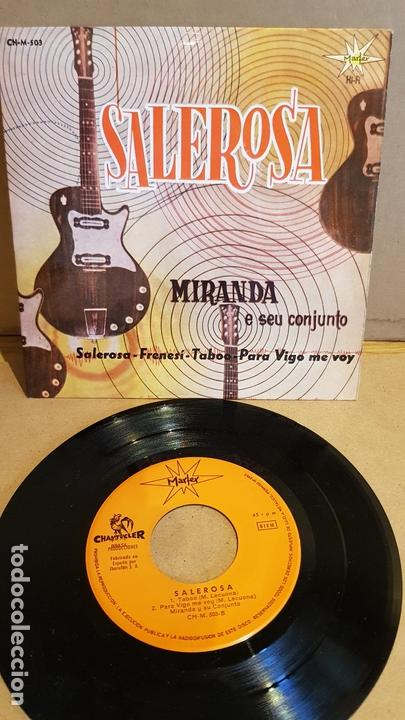 MIRANDA E SEU CONJUNTO / SALEROSA / EP - MARFER-1963 / MBC. ***/*** (Música - Discos de Vinilo - EPs - Grupos y Solistas de latinoamérica)