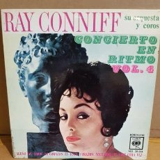 Discos de vinilo: RAY CONNIFF / CONCIERTO EN RITMO. VOL 4 / EP - CBS-1963 / MBC. ***/***. Lote 168057716