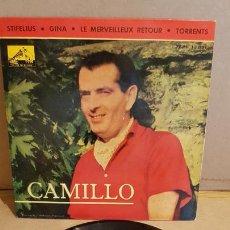 Discos de vinilo: CAMILLO / STIFELIUS / EP - LA VOZ DE SU AMO-1963 / MBC. ***/***LEVES MARCAS. Lote 168062936
