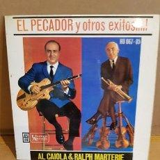 Discos de vinilo: AL CAIOLA & RALPH MARTERIE / EL PECADOR / EP - UNITED ARTISTS-1962 / MBC. ***/***. Lote 168063160