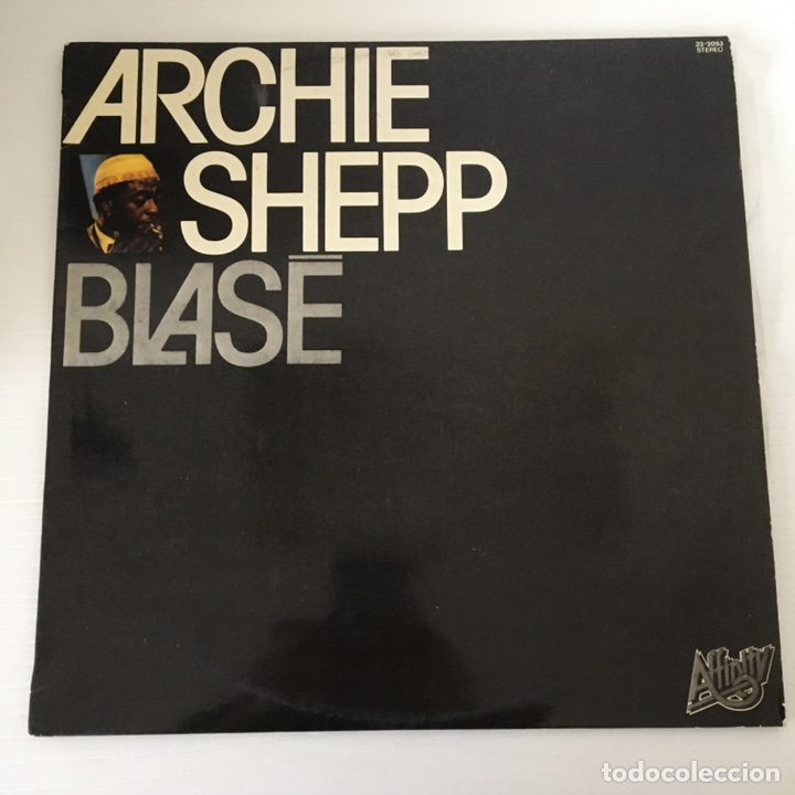 LP - ARCHIE SHEPP - BLASE (Música - Discos - LP Vinilo - Jazz, Jazz-Rock, Blues y R&B)