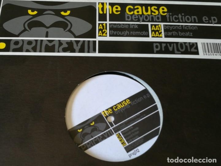 THE CAUSE - BEYOND FICTION E.P - 1999 (Música - Discos de Vinilo - Maxi Singles - Techno, Trance y House)