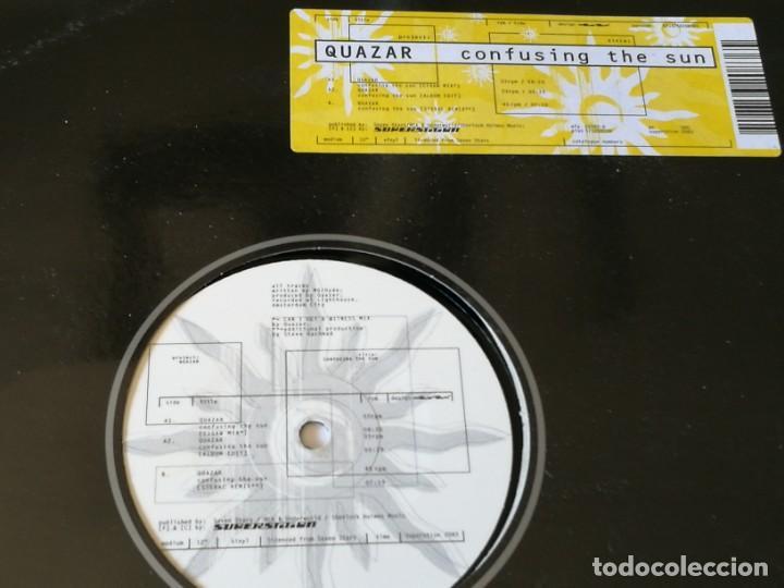 QUAZAR - CONFUSING THE SUN - 1998 (Música - Discos de Vinilo - Maxi Singles - Techno, Trance y House)
