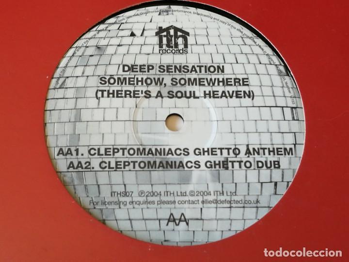 DEEP SENSATION - SOMEHOW, SOMEWHERE (THERE'S A SOUL HEAVEN) - 2004 (Música - Discos de Vinilo - Maxi Singles - Techno, Trance y House)