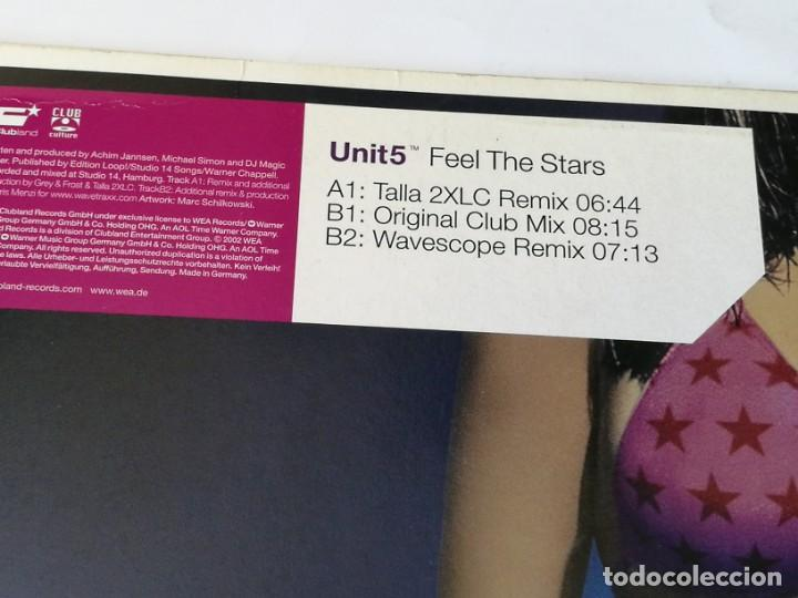 Discos de vinilo: Unit 5 - Feel The Stars - 2002 - Foto 2 - 168063884