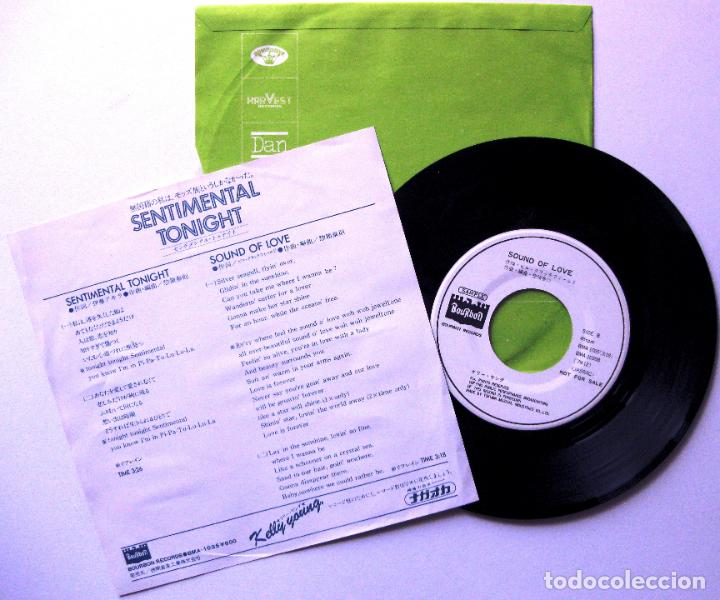 Discos de vinilo: Kelly Young - Sentimental Tonight - Single Bourbon Records 1979 PROMO Japan BPY - Foto 2 - 168064220