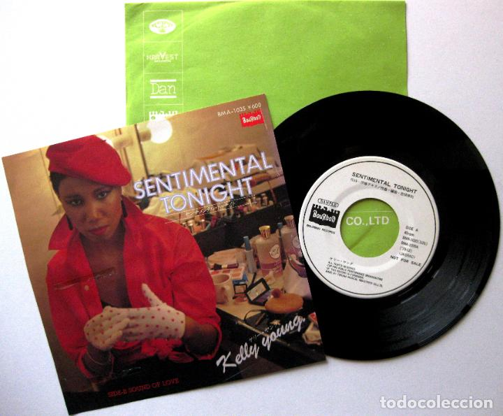 KELLY YOUNG - SENTIMENTAL TONIGHT - SINGLE BOURBON RECORDS 1979 PROMO JAPAN BPY (Música - Discos - Singles Vinilo - Funk, Soul y Black Music)