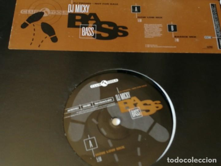 DJ MICKY - BASS - 1996 (Música - Discos de Vinilo - Maxi Singles - Techno, Trance y House)