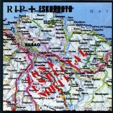 Discos de vinilo: RIP / ESKORBUTO ZONA ESPECIAL NORTE LP + FANZINE . PUNK ROCK RADIKAL VASKO. Lote 168091560