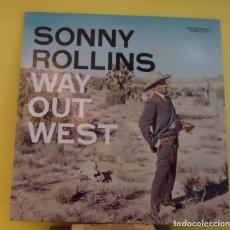 Discos de vinilo: LP SONNY ROLLINS – WAY OUT WEST . Lote 168092628