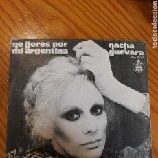 Discos de vinilo: SINGLE NACHA GUEVARA. Lote 153993181