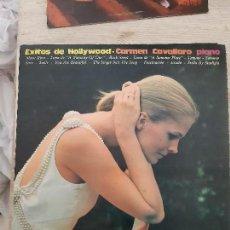 Discos de vinilo: LP BANDAS SONORAS AL PIANO DE PELICULAS. Lote 168113604