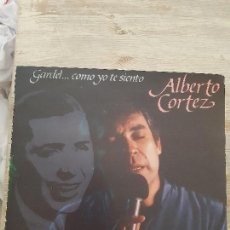 Discos de vinilo: LP ALBERTO CORTEZ. Lote 168116532