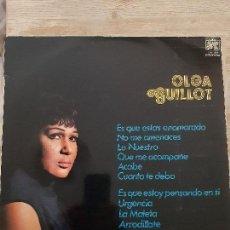 Discos de vinilo: LP OLGA GUILLOT. Lote 168118028