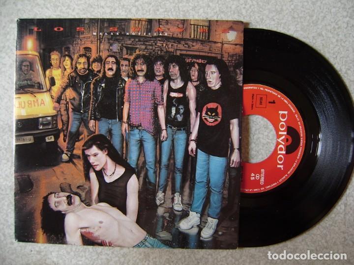 LOS SUAVES.MALAS NOTICIAS..PARTES I Y II...PROMO EX++ (Música - Discos - Singles Vinilo - Grupos Españoles de los 90 a la actualidad)