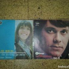 Discos de vinilo: LOTE EP'S - BILLIE DAVIS - OLIVER JEAN. Lote 168126108