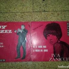 Discos de vinilo: LOTE EP'S - ROY ETZEL - IVA ZANICCHI. Lote 168126236