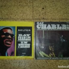 Discos de vinilo: LOTE EP'S - RAY CHARLES. Lote 168126280