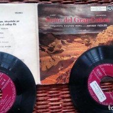 Discos de vinilo: SINGLE ( VINILO) -DOBLE- DE BOSTON POPS SUITE DEL GRAN CAÑON. Lote 168134444