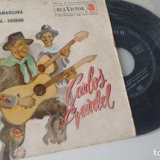 Discos de vinilo: SINGLE (VINILO) DE CARLOS GARDEL . Lote 168134668