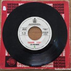 Discos de vinilo: LOS PEKENIKES CUCHIPE / AFRODITA SINGLE PROMOCION HISPAVOX. Lote 168135180