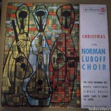 Discos de vinilo: NORMAN LUBOFF CHOIR - CHRISTMAS. Lote 168142720