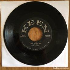Discos de vinilo: SAM COOKE YOU SEND ME SINGLE USA SELLO KEEN. Lote 168146404
