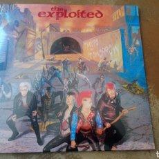 Discos de vinilo: THE EXPLOITED - TROOPS OF TOMORROW - LP VINILO NUEVO PRECINTADO -. Lote 168149840