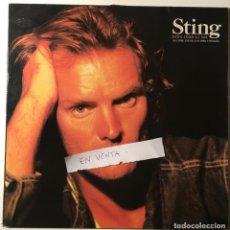 Discos de vinilo: MAXI SINGLE STING ...NADA COMO EL SOL EN ESPAÑOL Y PORTUGUÉS. MARIPOSA LIBRE, ELLAS DANZAN SOLAS... . Lote 168150684
