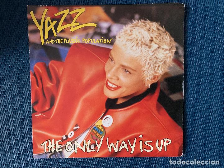 YAZZ AND THE PLASTIC POPULATION ?– THE ONLY WAY IS UP SELLO: FONTANA ?– 870 698-7 FORMATO: VINYL (Música - Discos - Singles Vinilo - Techno, Trance y House)