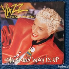 Discos de vinilo: YAZZ AND THE PLASTIC POPULATION ?– THE ONLY WAY IS UP SELLO: FONTANA ?– 870 698-7 FORMATO: VINYL . Lote 168150820