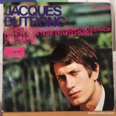 Discos de vinilo: JACQUES DUTRONC ET MOI ETMOI ET MOI EP ESPAÑA HISPAVOX. Lote 168156156