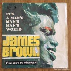 Discos de vinilo: JAMES BROWN SINGLE SONOPLAY AÑO 1967. Lote 168160056