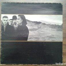 Discos de vinilo: U2 -THE JOSHUA TREE - LP ISLAND RECORDS 1987 ED. ESPAÑOLA 5F 208219 GATEFOLD SLEEVE MUY BUENAS CONDI. Lote 168163588