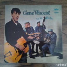 Discos de vinilo: GENE VINCENT AND THE BLUE CAPS-GENE VINCENT- LP CAPITOL 1976 REEDICION HOLANDESA 2C 064-82.076 M . Lote 168166384