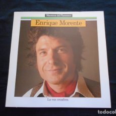 Discos de vinilo: LP ENRIQUE MORENTE // MALAGUEÑAS, SOLEARES, MINERAS, ETC.. Lote 168174148