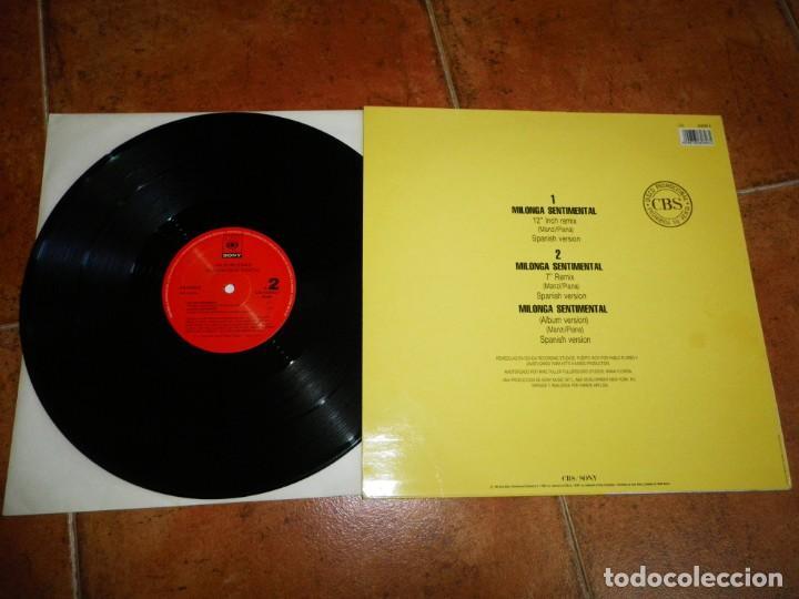 Discos de vinilo: JULIO IGLESIAS Milonga sentimental REMIXES MAXI SINGLE VINILO PROMO DEL AÑO 1992 CONTIENE 3 TEMAS - Foto 2 - 168178328