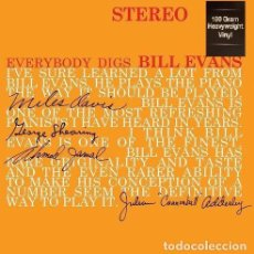 Discos de vinilo: BILL EVANS TRIO * LP HQ VIRGIN VINYL 180G * EVERYBODY DIGS BILL EVANS * PRECINTADO!!. Lote 168187112
