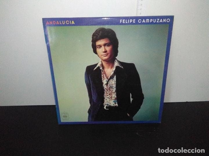 LP DISCO VINILO FELIPE CAMPUZANO ANDALUCÍA (Música - Discos de Vinilo - Maxi Singles - Jazz, Jazz-Rock, Blues y R&B)