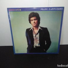 Discos de vinilo: LP DISCO VINILO FELIPE CAMPUZANO ANDALUCÍA. Lote 168189516