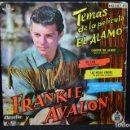 Discos de vinilo: FRANKIE AVALON - CANCIÓN DEL ÁLAMO + 3 - EP. Lote 168197448