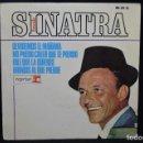 Discos de vinilo: SINATRA - OLVIDEMOS EL MAÑANA + 3 - EP. Lote 168197880