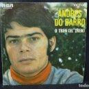 Discos de vinilo: ANDRES DO BARRO - O TREN / MIÑA MARUXA - SINGLE . Lote 168200116