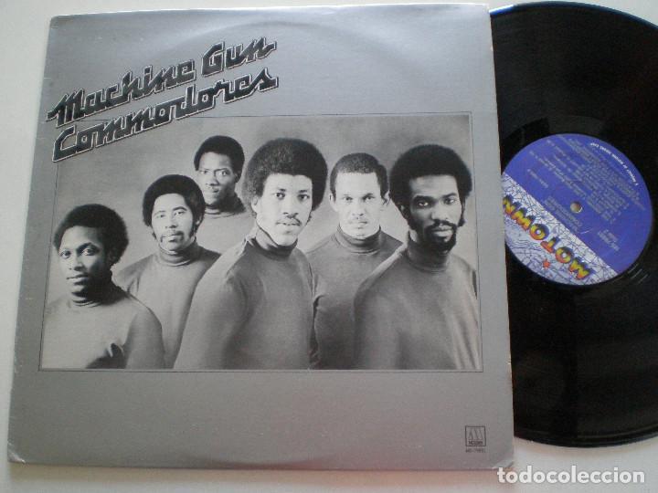 COMODORES - MACHINE GUN - LP MOTOWN USA 1974 (Música - Discos - LP Vinilo - Funk, Soul y Black Music)