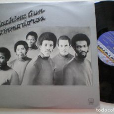 Discos de vinilo: COMODORES - MACHINE GUN - LP MOTOWN USA 1974 . Lote 168207172