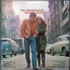 Discos de vinilo: BOB DYLAN. THE FREEWHEELIN'. CBS, SPAIN 1963 LP RE 1983 (CBS 32390). Lote 199575098