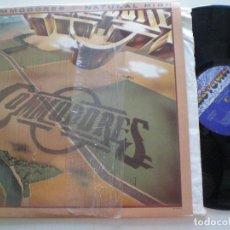 Discos de vinilo: COMODORES - NATURAL HIGH - LP USA MOTOWN 1978. Lote 168207336