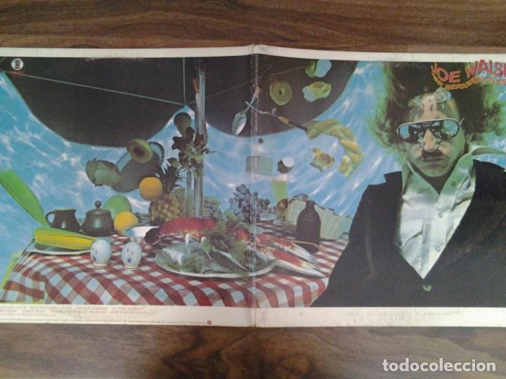 Discos de vinilo: JOE WALSH - BUT SERIOUSLY, FOLKS - LP ASYLUM RECORDS GATEFOLD SLEEVE ED. ORIGINAL CANADA 6E -141B - Foto 7 - 168209464