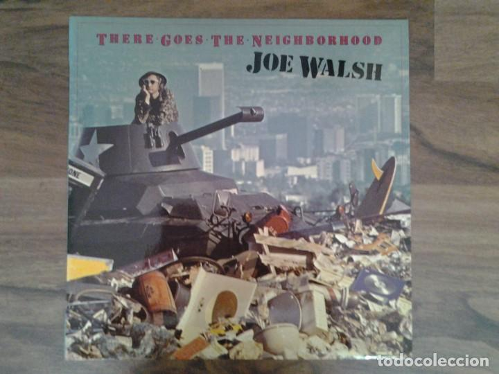 JOE WALSH - THERE GOES THE NEIGHBORHOOD- LP ASYLUM RECORDS 1981 ED. ESPAÑOLA S 90.400 MUY BUENAS CON (Música - Discos de Vinilo - EPs - Jazz, Jazz-Rock, Blues y R&B)